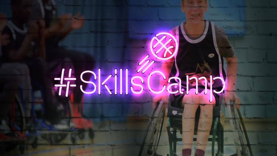 West Midlands Wheelchair Basketball Skills Camp