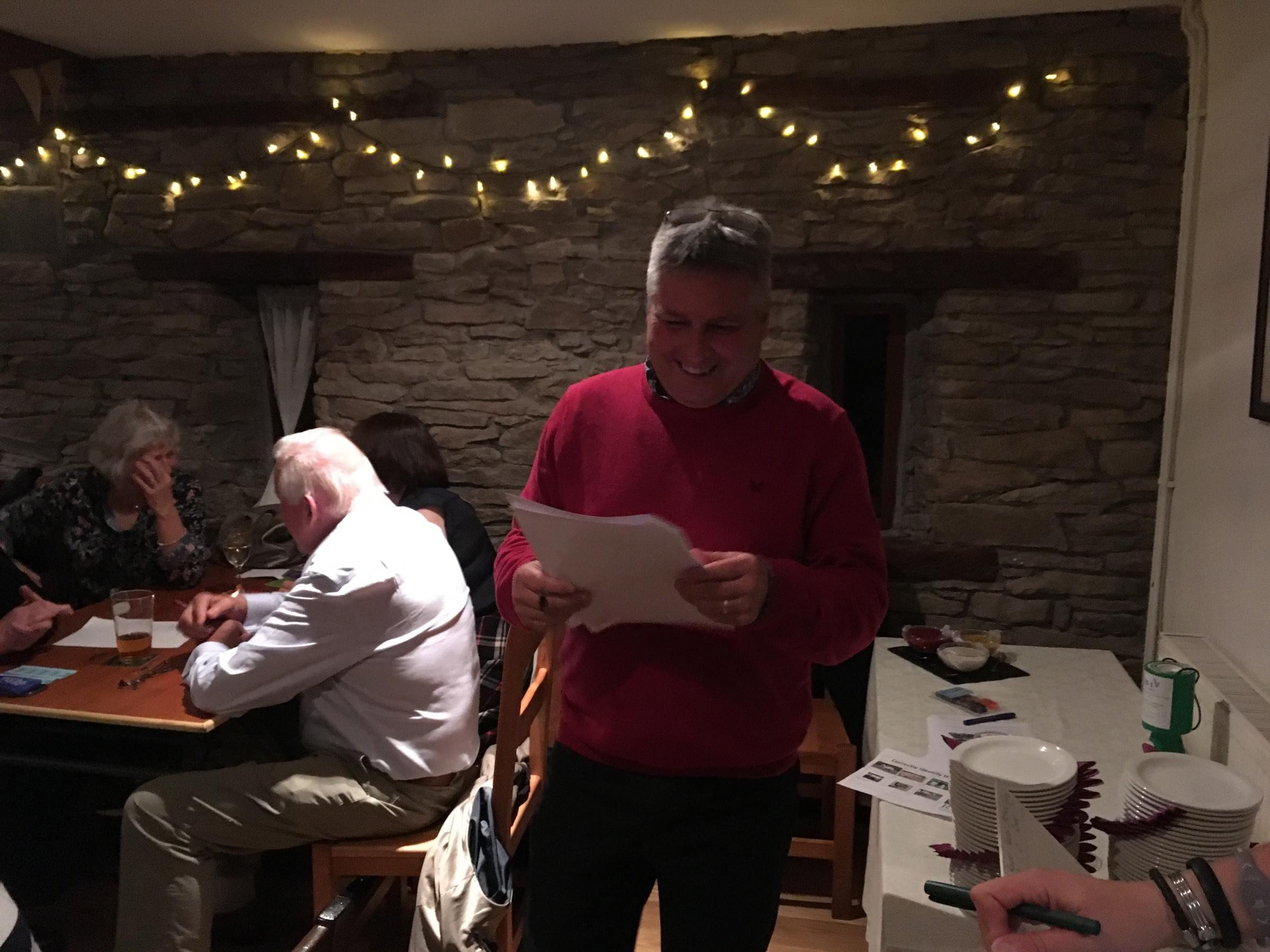 Welsh Goverment farming official turned quiz master, Steve Meredith.