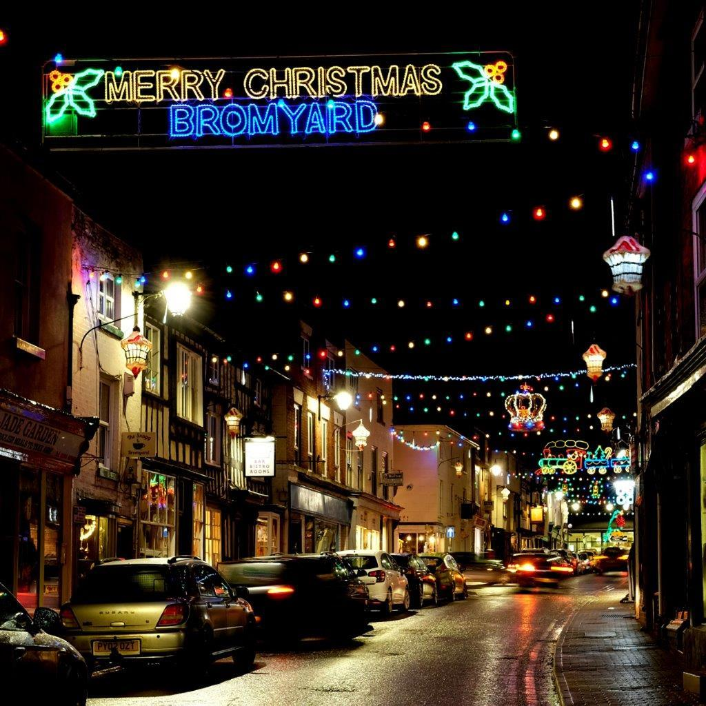 Bromyard's Christmas lights will be offiicially switched on at 5pm on Saturday November 17