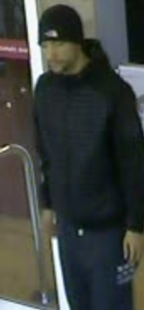 The man in the image is believed to have information in relation to the investigation.