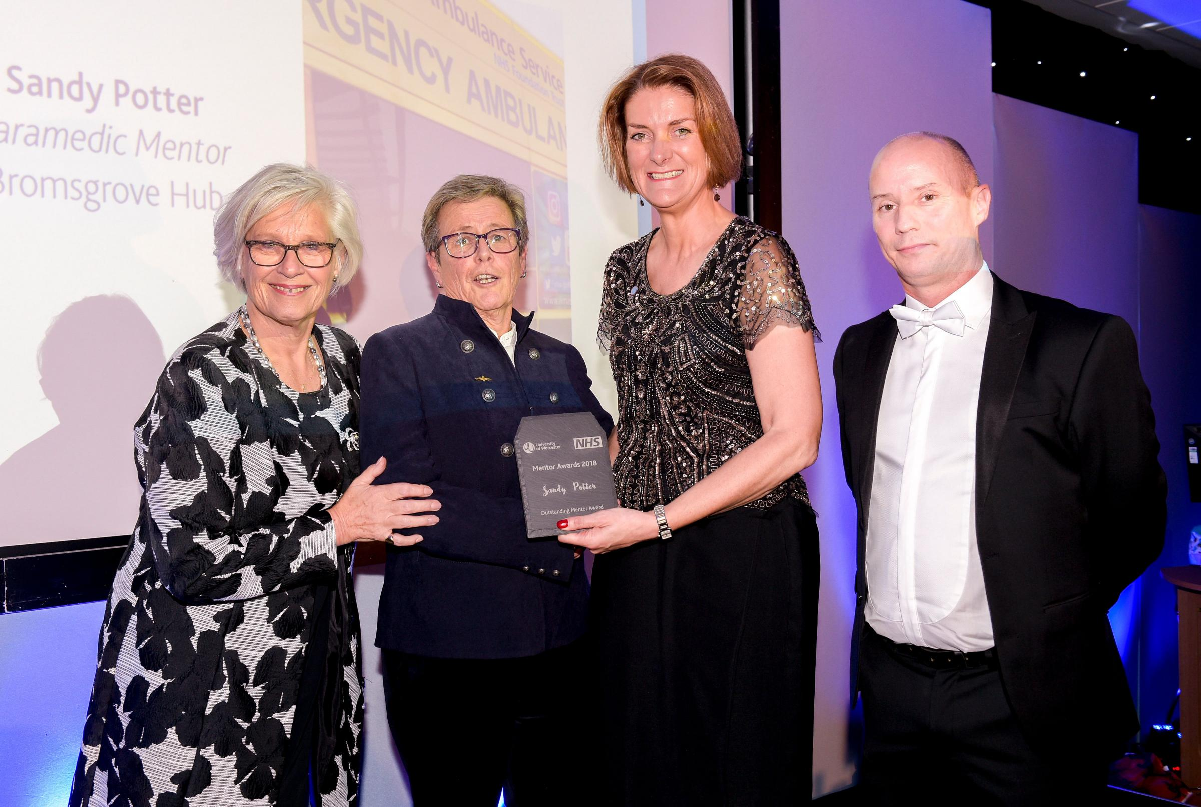 Redditch paramedic honoured for dedicating her life to helping others