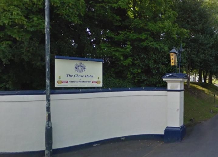The entrance to the Chase Hotel in Ross-on-Wye. Photo: Google