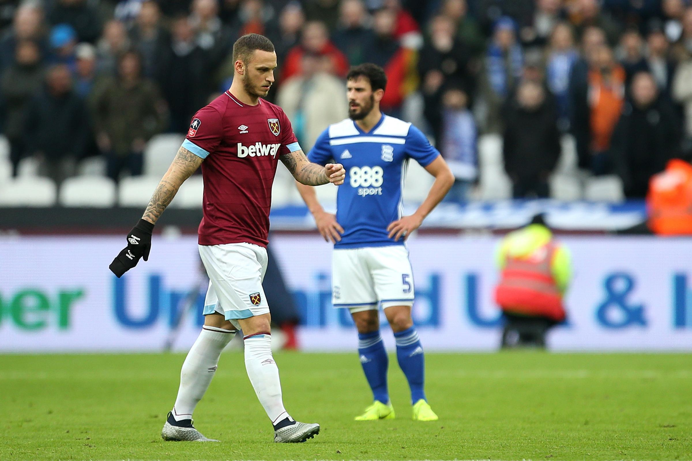West Ham are adamant Marko Arnautovic will not be sold (Steven Paston/PA).