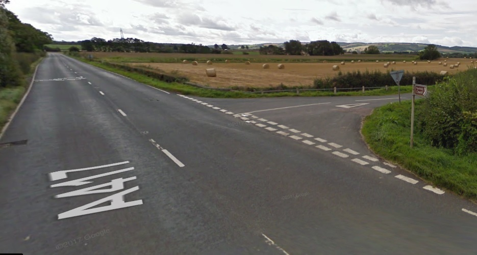 The crash happened at the junction of the A417 and Watery Lane. Photo by Google Maps