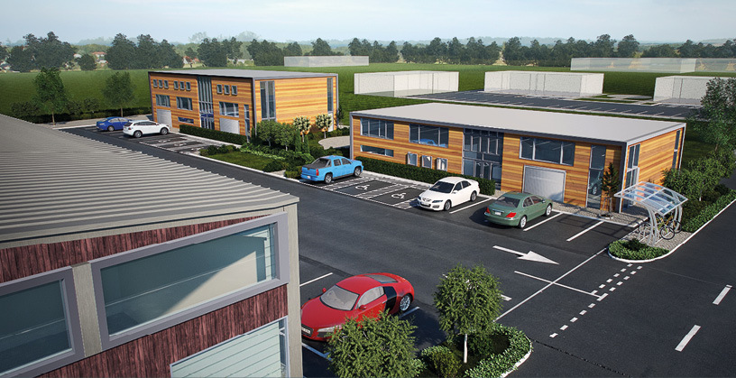 How Model Farm Enterprise Park could look in Ross-on-Wye