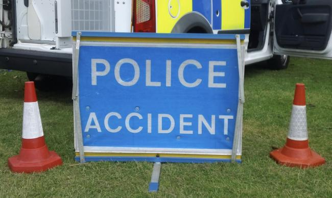 A man in his 20s was taken to hospital after an accident on the M5 between Junction 4 at Bromsgrove and Junction 3 at Quinton.