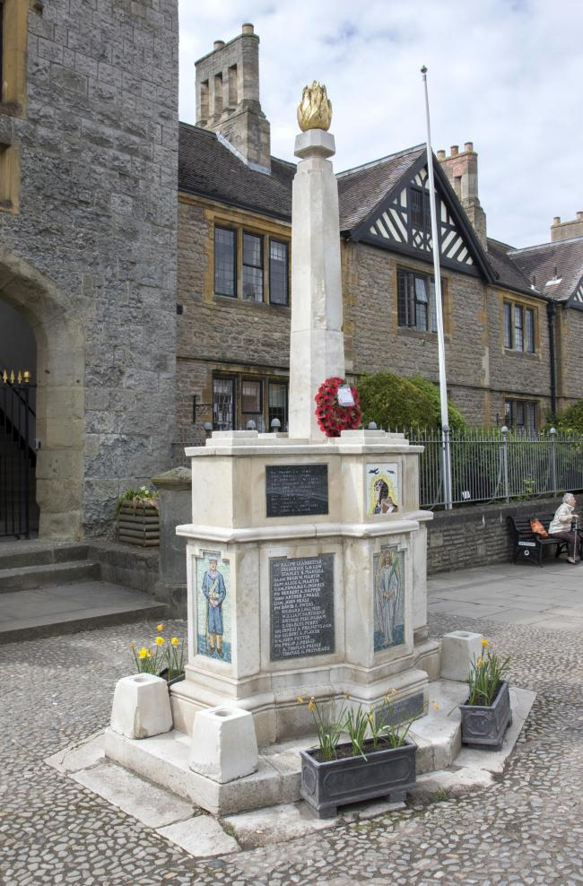 PROBLEMS: But Ledbury's War Memorial looks set to be fixed