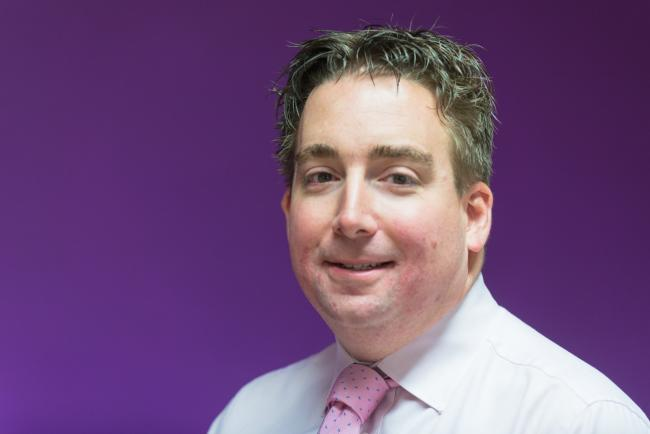 SUPPORT: Alistair Hayward-Wright welcomed the government's scheme