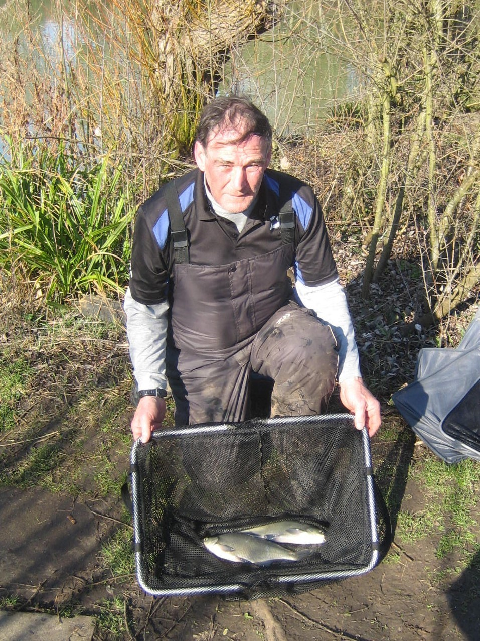 Malvern Anglers' Willow Farm winner Frank Edwards. Picture: JOHN SHAW