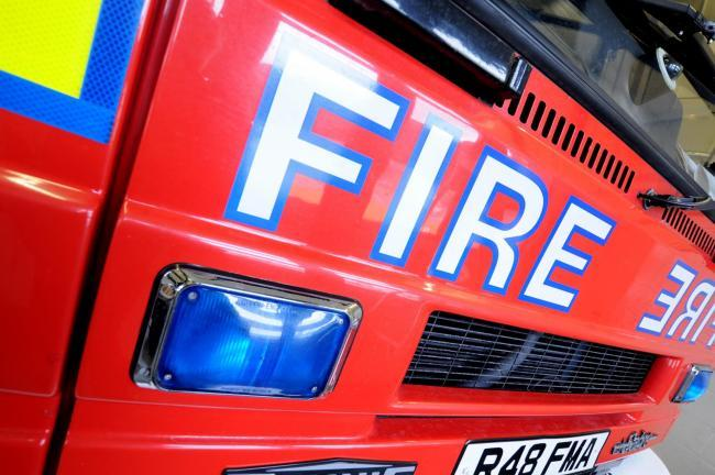 Firefighters called to burning houses