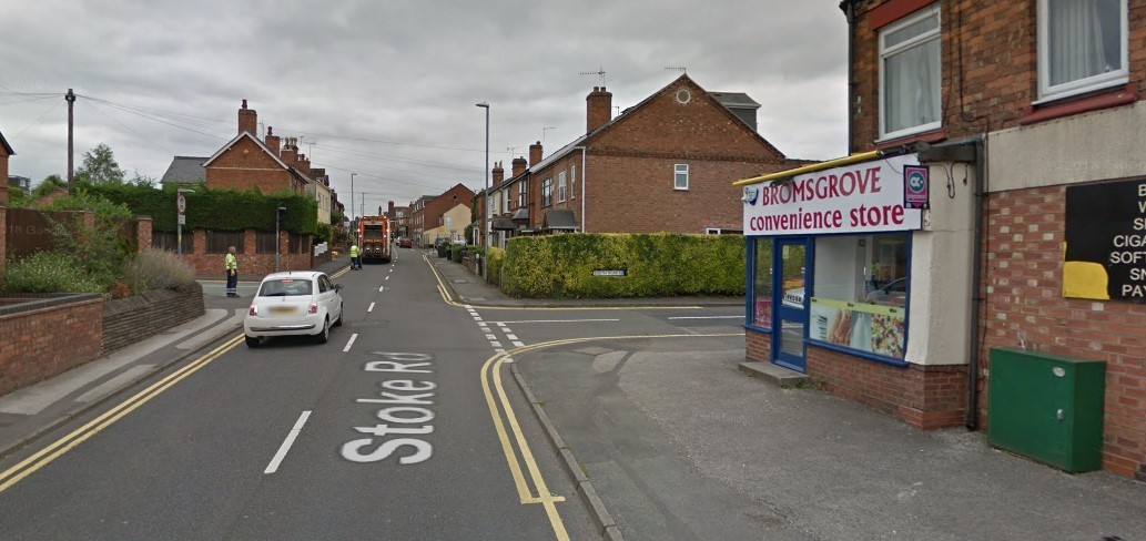 The assault happened at the junction of Stoke Road and South Road. The assailants are believed to have run off up Carlyle Road (to the left of the picture). Pic: Google Maps.