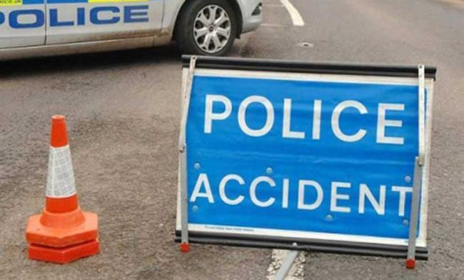 Traffic hold-ups after crash in Hereford