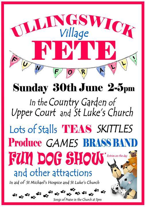 Ullingwick Village Fete & Fun Dog Show
