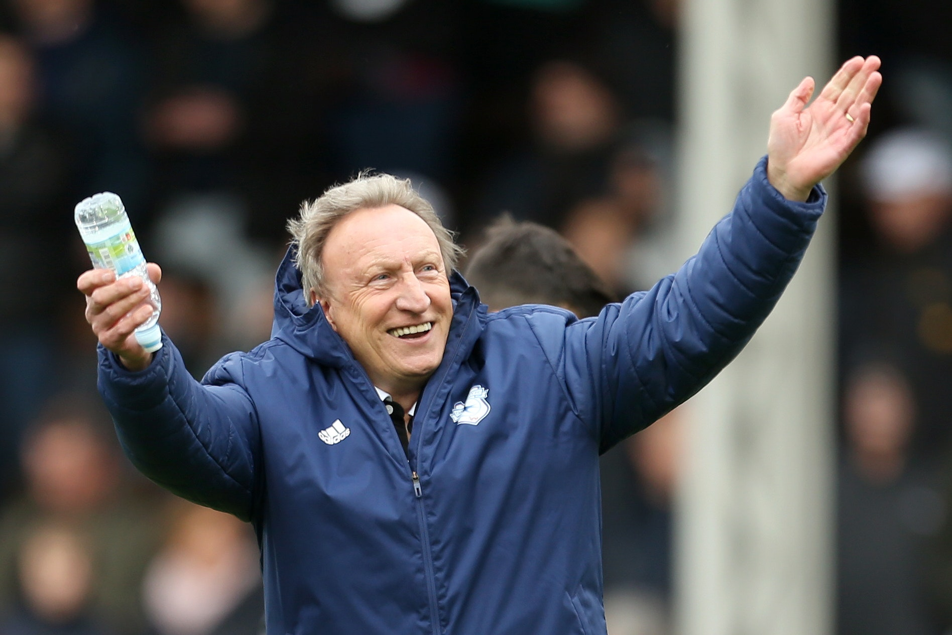 Cardiff manager Neil Warnock is targeting a record ninth promotion after it was agreed that he will remain at the relegated club