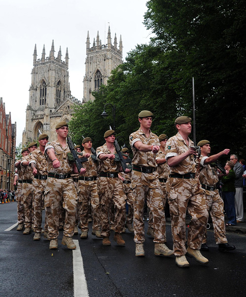 Troops prepare for Armed Forces Day parade