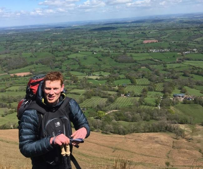 Stephen Kyle will be walking around the Herefordshire border.