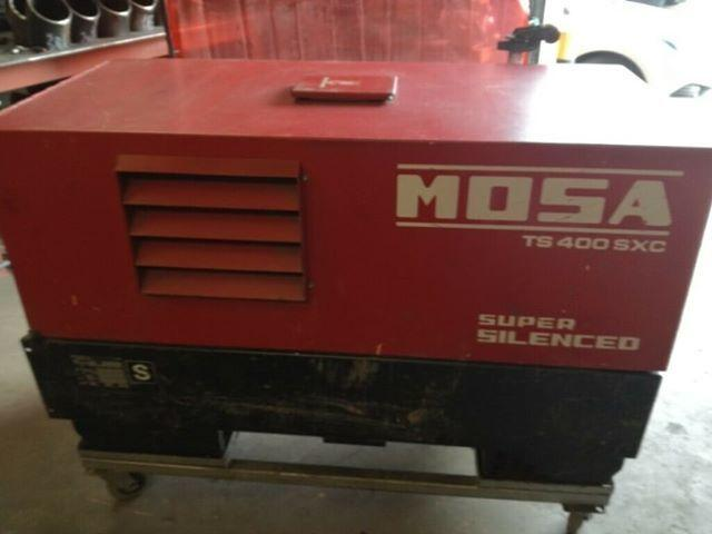The MOSA welder which was thought to be stolen from Hereford.