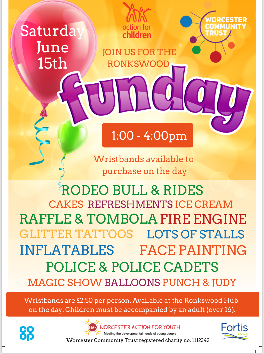 Ronkswood Community  Centre Funday