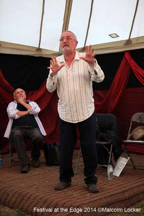 STORYTELLER CHRIS LOWE - 'the mesmerising teller of tall tales' is at THE TUDOR HOUSE MUSEUM, UPTON ON SEVERN during the JAZZ FESTIVAL WEEKEND.