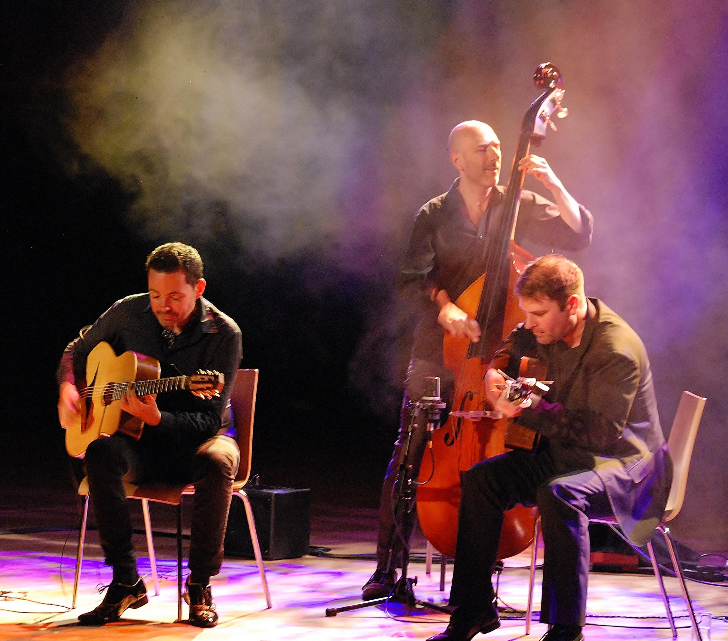 Robin Nolan trio... musicians at the top of their game.