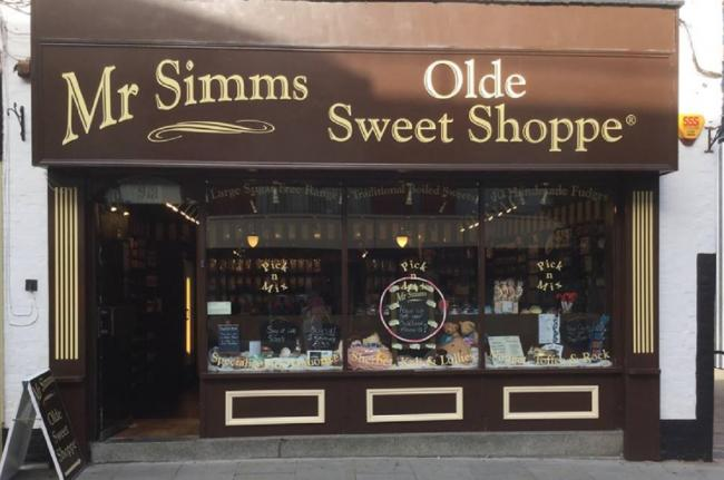BIRTHDAY: Mr Simms Olde Sweet Shop. Picture:@MrSimmsWorcester Facebook