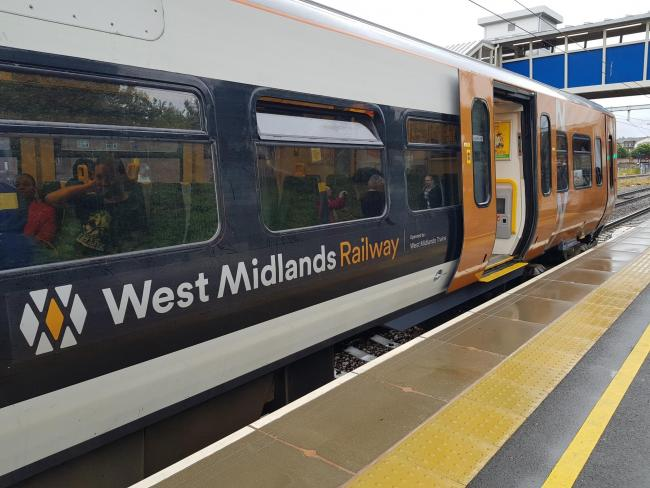Strike action is affecting West Midlands Rail services