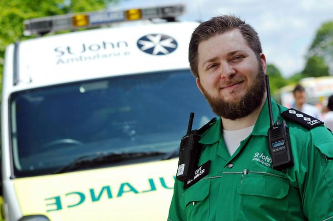 St John Ambulance are looking for new volunteers in Herefordshire. Photo: Sarah Gaunt